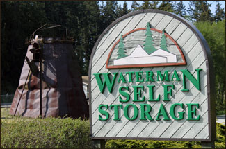 Waterman Self Storage, South Whidbey Island near Langley